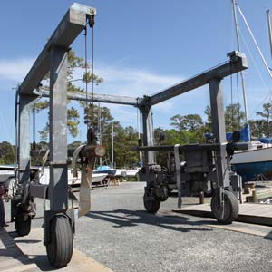 20 ton travel lift